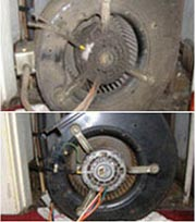 Blower Motor Cleaning